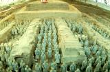 [Picture of Qin Stone Soldiers]
