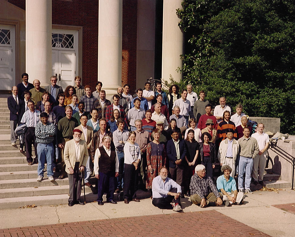 Faculty and Grad Students in the UMD Chaos Group